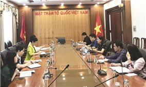 UBDT và Ủy ban Trung ương MTTQ Việt Nam họp bàn triển khai chương trình phối hợp công tác