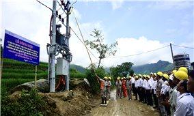 Huyện Bảo Thắng (Lào Cai): Còn 3 thôn, bản chưa có điện lưới quốc gia