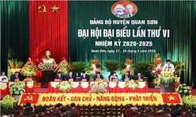 Đại hội Đảng bộ huyện Quan Sơn lần thứ VI thành công tốt đẹp