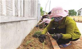 Đẩy mạnh công tác dân vận để xây dựng nông thôn mới kiểu mẫu