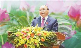 Thủ tướng Nguyễn Xuân Phúc: Ở đâu Nhân dân gặp thiên tai, dịch bệnh, ở đó có bộ đội giúp dân
