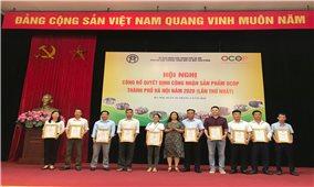 Hà Nội công bố Quyết định công nhận sản phẩm OCOP