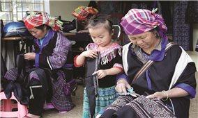 Đa dạng các nghề truyền thống ở Mù Cang Chải