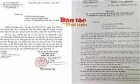 Vụ việc tại bản Xăm, xã Kỳ Phú, huyện Nho Quan (Ninh Bình): Lãnh đạo tỉnh yêu cầu giải quyết dứt điểm