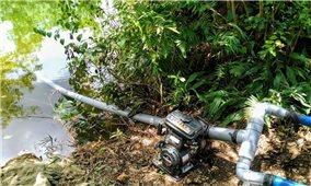 Minh Hóa (Quảng Bình): Nông dân nỗ lực chống hạn cứu lúa