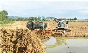 Công ty Yên Phú Nho Quan (Ninh Bình): Có thực sự nạo vét lòng hồ để lấy nước sản xuất?