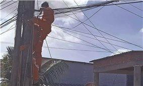 Gia tăng tai nạn do điện giật