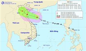 Áp thấp nhiệt đới mạnh lên thành bão số 2, mưa lớn khắp cả nước