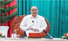 Thủ tướng tiếp tục làm việc với các địa phương, thúc đẩy quyết tâm phát triển