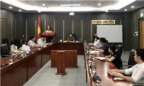 Ủy ban Dân tộc: Đẩy nhanh tiến độ thực hiện các Đề án ứng dụng công nghệ thông tin