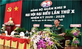 Đảng bộ Quân khu 9: Quyết tâm hoàn thành tốt các nhiệm vụ trọng tâm trong nhiệm kỳ 2020 – 2025