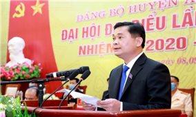 Đảng bộ huyện Anh Sơn (Nghệ An): Phấn đấu trở thành điểm sáng toàn diện của miền Tây xứ Nghệ