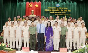 Đảng bộ Công an tỉnh An Giang tổ chức thành công Đại hội lần thứ XII