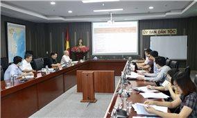 Tiếp tục xây dựng Báo cáo khả thi triển khai thực hiện các Tiểu dự án thuộc Chương trình MTQG