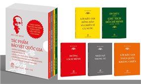 Xuất bản bộ sách Hồ Chí Minh - Tác phẩm Bảo vật quốc gia dịp Quốc khánh 2-9