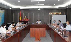 Bộ trưởng, Chủ nhiệm UBDT Đỗ Văn Chiến: Nghe báo cáo về việc triển khai thực hiện Quyết định 771/QĐ-TTg