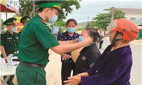 Bộ đội Biên phòng Hà Tĩnh: Bám cơ sở để phòng, chống dịch