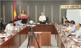 Ủy ban Dân tộc: Đẩy nhanh tiến độ giải ngân vốn đầu tư công năm 2020