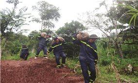 Công an tỉnh Điện Biên: Sát cánh cùng dân khắc phục thiên tai