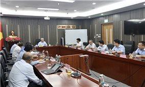 Ủy ban Dân tộc: Tiếp tục rà soát, hoàn thiện báo cáo khả thi Chương trình mục tiêu quốc gia