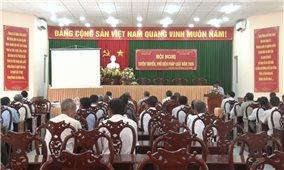 Phổ biến, giáo dục pháp luật cho đồng bào dân tộc thiểu số tại tỉnh Hậu Giang