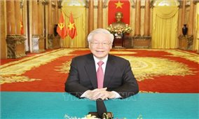 Thông điệp của Tổng Bí thư, Chủ tịch nước gửi Phiên thảo luận chung Cấp cao của Liên hợp quốc