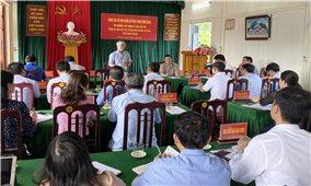 Bộ trưởng, Chủ nhiệm UBDT Đỗ Văn Chiến làm việc tại Tuyên Quang
