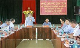 Thứ trưởng, Phó Chủ nhiệm UBDT Nông Quốc Tuấn và Đoàn công tác làm việc tại Kon Tum và Gia Lai