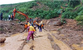 1 người chết, 283 hộ dân phải di dời do mưa lớn tại huyện A Lưới