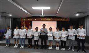 UBDT gặp mặt Đoàn giáo viên, học sinh DTTS xuất sắc tiêu biểu tỉnh Vĩnh Phúc