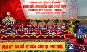 Cà Mau: Long trọng khai mạc Đại hội Đảng bộ tỉnh lần XVI, nhiệm kỳ 2020 – 2025