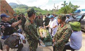 Quảng Nam: Nỗ lực cứu nạn, khắc phục hậu quả sạt lở đất