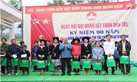 Bộ trưởng, Chủ nhiệm Đỗ Văn Chiến dự Ngày hội đại đoàn kết toàn dân tộc tại Hòa Bình