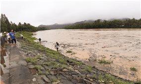Các huyện miền núi Bình Định ngập nặng do bão lũ