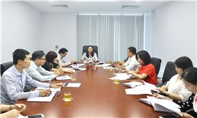 Ủy ban Dân tộc rà soát công tác chuẩn bị Lễ Tuyên dương