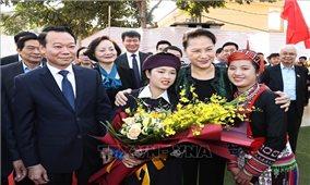 Chủ tịch Quốc hội dự Ngày hội đại đoàn kết toàn dân tộc tại Yên Bái