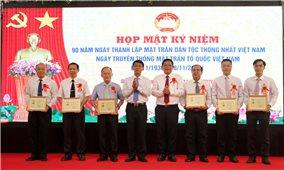 """Sóc Trăng: 6 cá nhân được tặng Kỷ niệm chương """"Vì sự nghiệp đại đoàn kết dân tộc"""""""