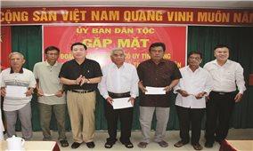 Ủy ban Dân tộc: Gặp mặt Người có uy tín trong đồng bào DTTS tỉnh Bình Thuận