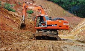 Bình Định: Khẩn trương khôi phục giao thông các huyện miền núi