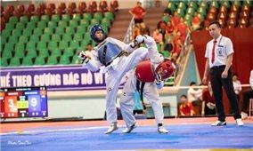 Hơn 300 vận động viên tham dự giải Vô địch Taekwondo quốc gia năm 2020