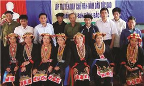 Già làng tham gia soạn sách giáo khoa