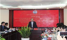 Họp báo thông tin về Đại hội đại biểu toàn quốc Liên minh Hợp tác xã Việt Nam