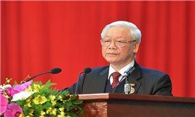 Tổng Bí thư, Chủ tịch nước Nguyễn Phú Trọng: Vượt mọi thách thức, tận dụng tốt cơ hội, đưa đất nước tiếp tục vươn lên mạnh mẽ