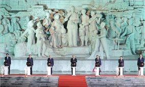 Thủ tướng dự Lễ khánh thành Tượng đài