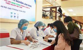 Khoảng 200 người đăng ký thử nghiệm vaccine Nanocovax