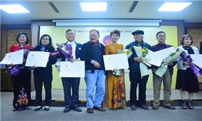 Trao giải thưởng văn học nghệ thuật các dân tộc thiểu số năm 2020