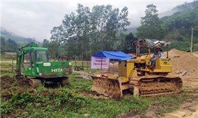 Khởi công khu tái định cư cho người dân ở Trà Leng