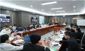 Bộ trưởng, Chủ nhiệm Đỗ Văn Chiến chủ trì giao ban Lãnh đạo Ủy ban Dân tộc