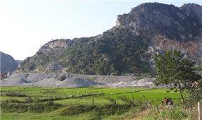 Quảng Bình: Gây ô nhiễm môi trường, doanh nghiệp khai thác đá bị dừng hoạt động