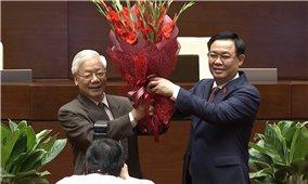 Kỳ họp thứ 11, Quốc hội Khóa XIV: Quốc hội miễn nhiệm chức vụ Chủ tịch nước đối với đồng chí Nguyễn Phú Trọng